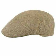 Country Gentleman from hats.com Cuffley Linenweave Cap - $22.00