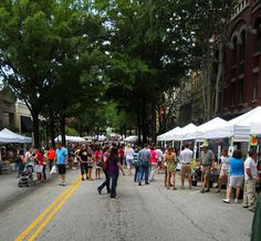 Saturday market downtown