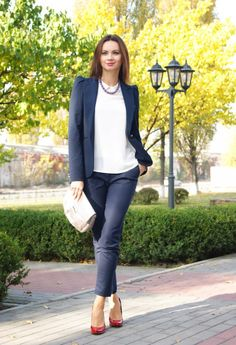 20 Amazing Office Chic Outfit Ideas   Style Motivation