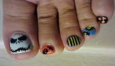 Nightmare Before Christmas Nails 2