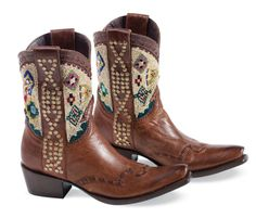Cayuse Beaded Boots