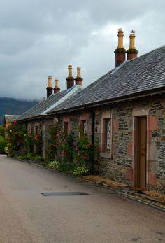 """fuckitandmovetobritain: """" Luss, Loch Lomond, Argyll and Bute, Scotland, UK """" Loch Lomond Scotland, Scotland Uk, Scotland Travel, Scottish Cottages, England Ireland, Scottish Highlands, British Isles, Amazing, Awesome"""