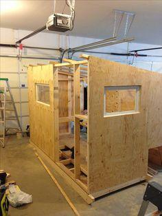 7 best ice shanty designs images scouting bricolage cabin rh pinterest com