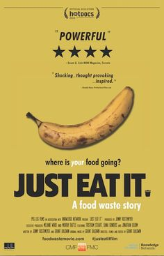 "Just Eat It. A Food Waste Story ""It doesn't require an entire revolution in the ways that we treat food, it's just tweaking it slightly and usually in delicious ways."" As a huge lover of food and as someone who loves to cook, this documentary, ""Just Eat It. A Food Waste Story"" grabbed my interest […]"