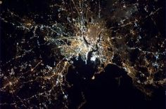 Oh, Boston...my heart is aching for you. :'(    (photo credit: ISS Cmdr Chris Hadfield) 4/15/13