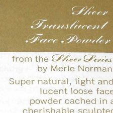 VTG BROCHURE AD Merle Norman Cosmetics mini makeup Translucent Face Powder paper