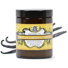 Beekman 1802 Vanilla Creamed Honey is made from pure raw honey harvested from Beekman 1802 Farm, blended with real vanilla bean seeds. Try it on warm buttered toast, in oatmeal, baking, ice cream, or by the spoonful in coffee or tea.