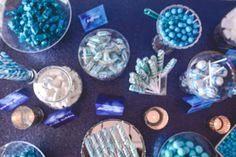 Navy Silver Wedding, Chocolate Wrapping, Candy Bar Wedding, Blue Colour Palette, Prom Ideas, Love S, Communion, Watercolour, Balloons