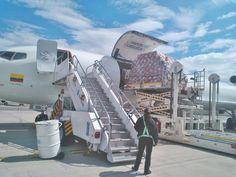 LAS Cargo Boeing 727 freighter