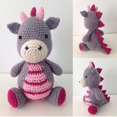 Fofura feita em crochê. Por @cantinho.da.vivi #blogencontrandoideias #encontrandoideias #fabiolateles