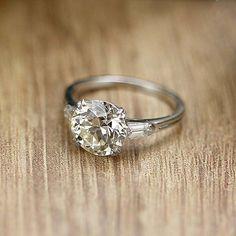 Circa 1930s Engagement Ring - VR511-02