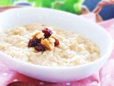 レンジでオートミールミルク粥の画像