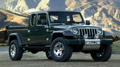 ** JEEP GLADIATOR PICKUP TRUCK ** Your prayers have been answered. Jeep has just announced that the Jeep Gladiator Pickup Truck ($TBA) will be built out of its Toledo plant and hit the...