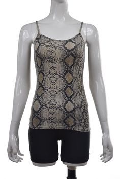63c596ce 19.99 | Zara W&B Collection Womens Top Size S Ivory Gray Animal Print