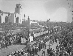 1939, Los Angeles Union Station's opening day parade.