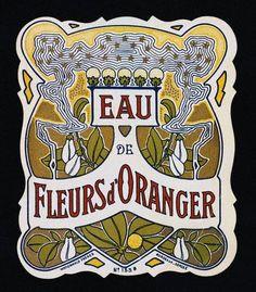 Art Nouveau Ad Graphic