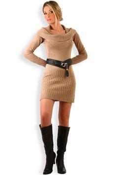 Abbigliamento da Donna  http://www.abbigliamentodadonna.it/vestito-caldo-moda-inverno-p-1061.html Cod.Art.001101 - Vestito caldo moda inverno a manica lunga da donna, un abito dalla linea semplice e sobria, irresistibilmente fashion, perfetto in tutte le occasioni, al lavoro o nel tempo libero.