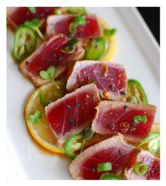 Tuna Tataki. #plocomiFoodie