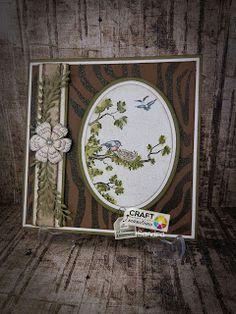 Craft Sensations: vogel kaart