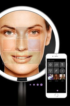 The new sensor mirror pro is capable of over 50,000 color variations — enabling it to recreate light settings from your office, gym or any place you want to look your best.