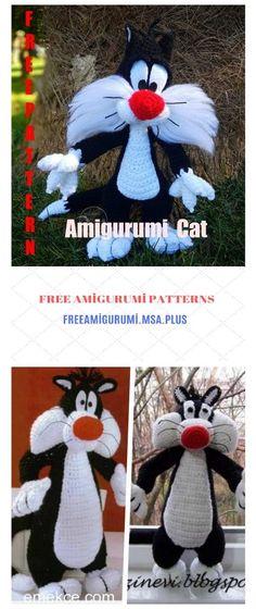 Our Favorite Pinterest Crochet Patterns | Crochet cat pattern ... | 560x236