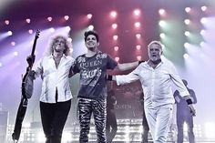 From the moment Adam Lambert first entered America's living rooms and the 'American Idol' audition room five years ago, he seemed fit for a Queen and destined to one day front the legendary glam-rock group.
