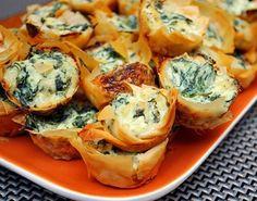 Spanakopita Bites (Spinach Dip Bites)... Happy Hour Appetizers 20 | Hampton Roads Happy Hour