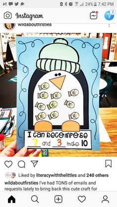 Bring Back, Bring It On, Making 10, 2 Instagram, Sight Words, Cute Crafts, Kindergarten, Education, Math