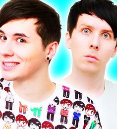 The debut sales numbers for Dan Howell and Phil Lester's new book, The Amazing Book Is Not on Fire: The World of Dan and Phil, are finally in for the UK! British Youtubers, Famous Youtubers, Top Youtubers, Daniel James Howell, Dan Howell, Trevor Moran, Dan And Phill, Phil 3, Ricky Dillon