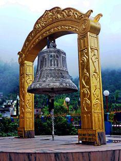 Big bell, Rewalsar, Himachal Pradesh, India