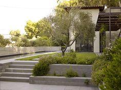 retaining wall mountain house - Google Search
