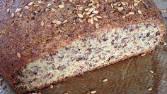 Rezept für ein 5-Elemente-Brot lowcarb glutenfrei mit Mandeln, Leinsamen…