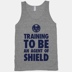 Training to be an Agent of Shield. All agents have to be fit machines to help save the world. | WANT!!!