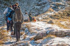 Gemeinsames wandern am Arlberg