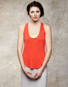 Perfect Fit Tank  A perfect Layering Piece for Summer  $65.00