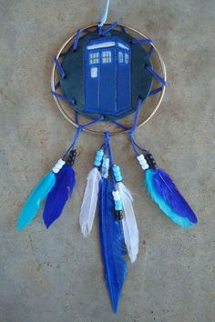 Pop Culture Dreamcatchers (TARDIS, World of Warcraft, Rainbow Dash, Captain America, Star Wars)