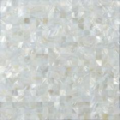 Mother Of Pearl Tile Seamless Shell Mosaic Tiles St076 Kitchen Backsplash Seashell Bathroom