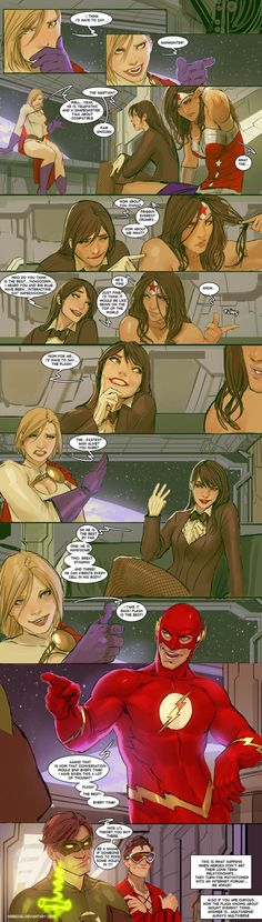 """Dude Talk!"" Comic by Stjepan Sejic — GeekTyrant"