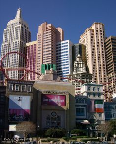 New York, New York - Las Vegas, Nevada.......the best roller coaster i have ever been on!