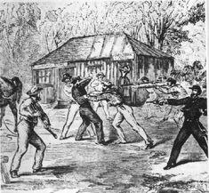 The Capture of Frank Gardiner - 1864 - bushrangers Photo