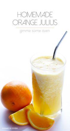 Copycat Orange Julius Recipe | gimmesomeoven.com