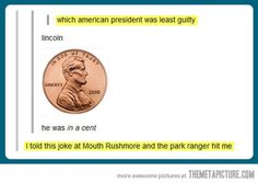 Which American President was least guilty?