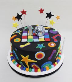 Disco Pop Cake  Violeta Glace