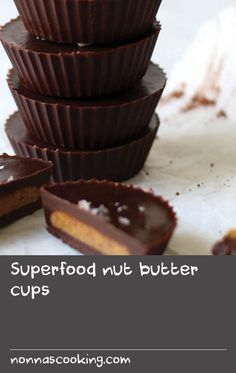 """Superfood nut butter cups   Lucuma is a super fruit and a total superfood. It hails from Peru where it is known as """"Gold of the Incas"""", and has been cherished for centuries. Here in the west, the golden-coloured pulpy fruit is rather difficult, if not impossible to find, so I purchase it in dried, powdered form. Lucuma is sweet, but low on the glycemic scale, so it's perfect for anyone looking to decrease their sugar consumption. The flavour is similar to caramel or maple, so it lends"""