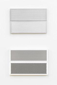 Painted half tone patterns.