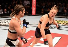 Comfortable: Rousey said she's happy with the amount she earns as one of the top people in her sport... 01-08-2015