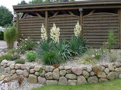 Natursteinmauer - Landschaftsbau Nord