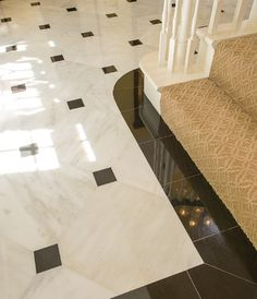 Entryway Marble Foyer Design Ideas, Pictures, Remodel and Decor Types of Glass for Shower Doors Glas Floor Design, Ceiling Design, Tile Design, House Design, Entryway Flooring, Granite Flooring, Foyer Decorating, Marble Floor, Home Interiors