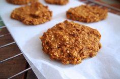 Recept voor pumpkin cookies. Ofwel: vegan koekjes met pompoen. Ja echt, dat is heel erg lekker!