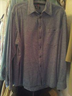 oversized vintage shirt £15 Denim Button Up, Button Up Shirts, Vintage Shirts, Menswear, Tops, Fashion, Vintage T Shirts, Moda, Fashion Styles